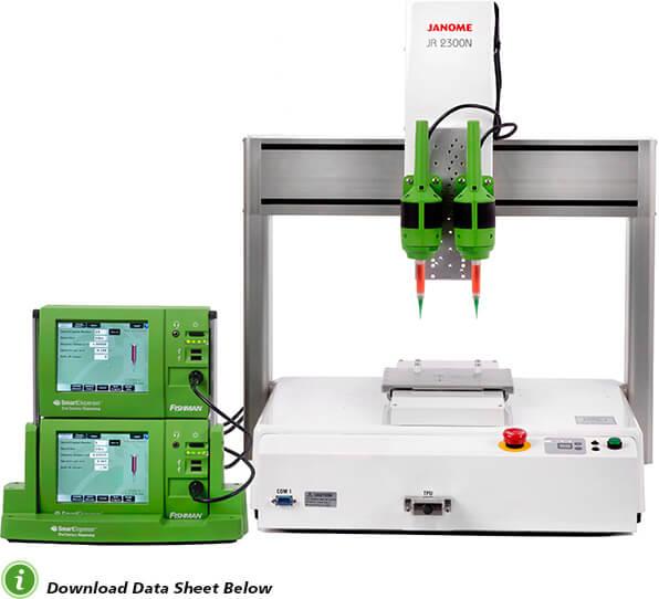 SmartDispenser® Fiber Optic Benchtop Automation System