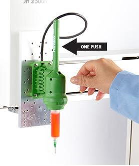 Adhesive Dispensing Gun Mount By Fishman Corporation