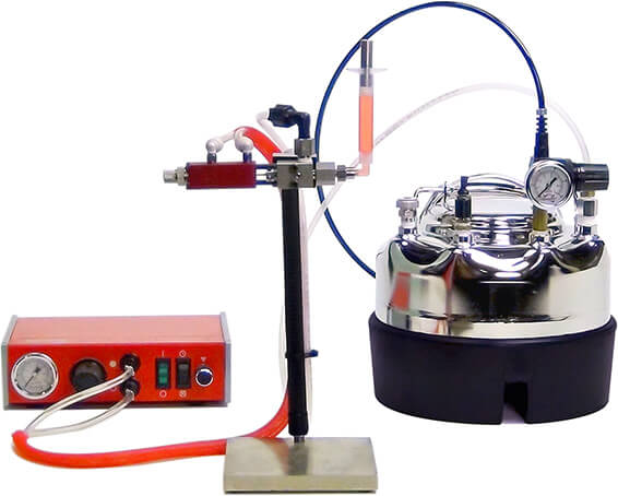 Non Pourable Fluid Syringe Filling Machine Airpulse